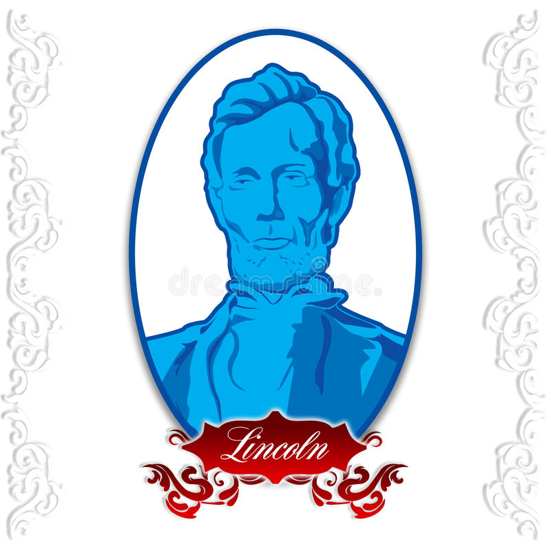 Abraham Lincoln Day ilustración del vector