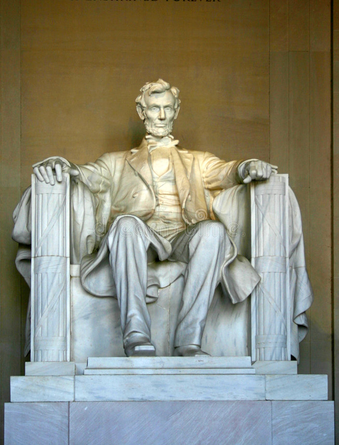 Free Abraham Lincoln Memorial Royalty Free Stock Image - 1365186