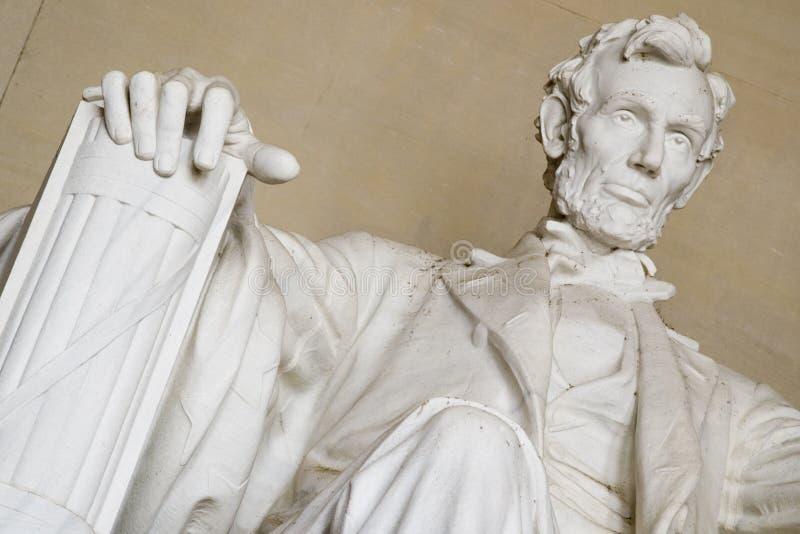 Abraham Lincoln memorial. Closeup - Washington DC 2007 royalty free stock image