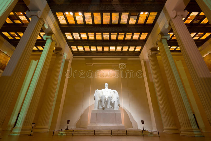 Abraham Lincoln Memorial royalty-vrije stock foto