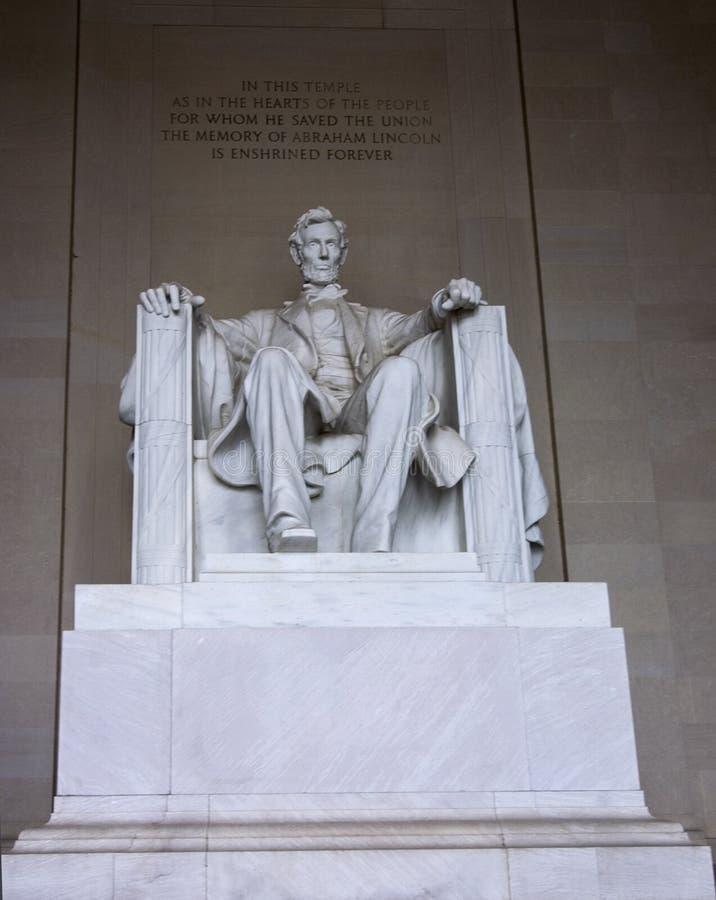 Download Abraham Lincoln Minnesmärke Arkivfoto - Bild av visit, marmor: 235626