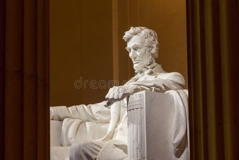 Abraham Lincoln-monument gelijkstroom stock foto