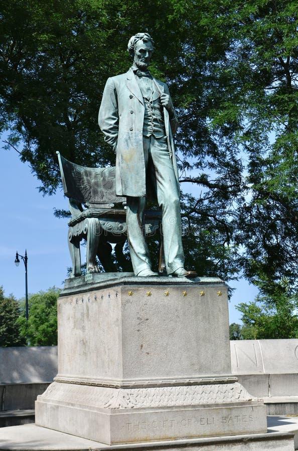 Abraham Lincoln: O homem fotografia de stock royalty free
