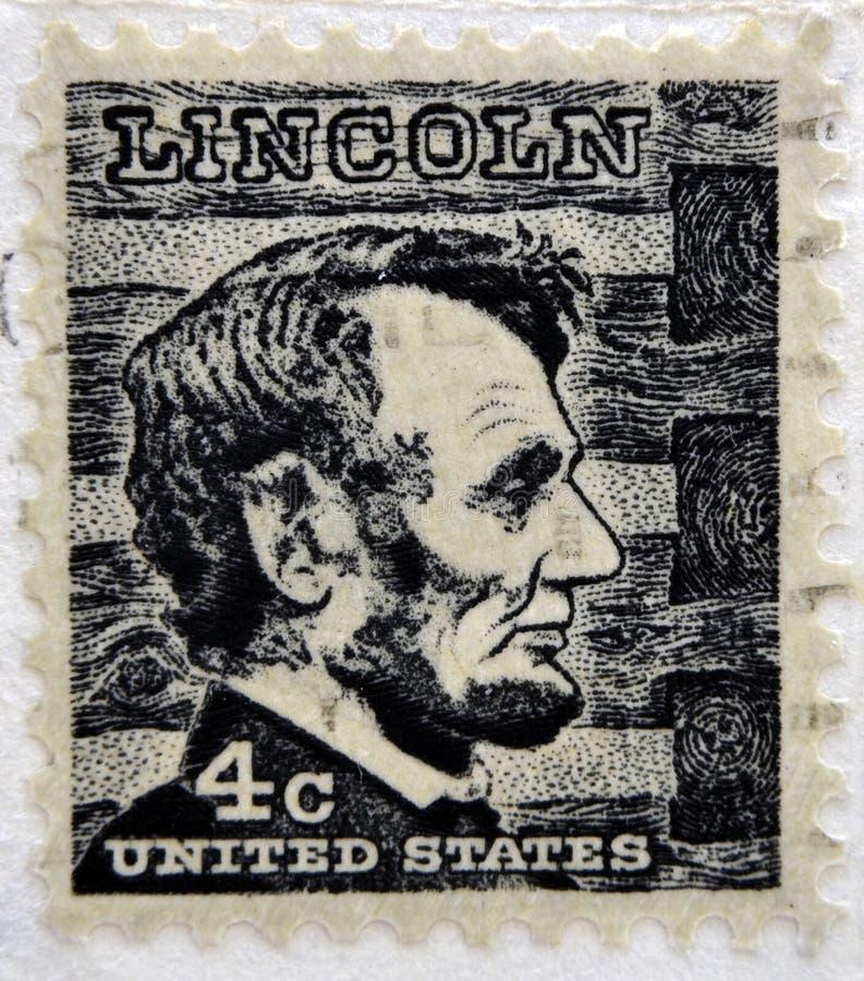 Abraham Lincoln president 16 av Förenta staterna royaltyfria foton