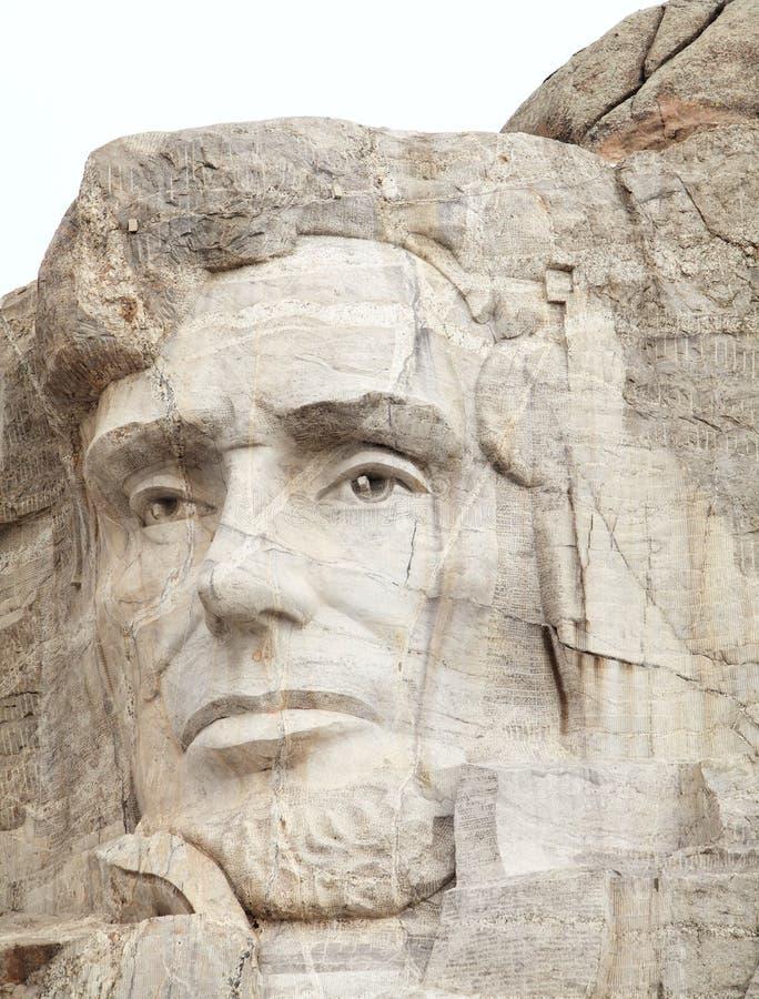 Abraham Lincoln??rushmore 免版税库存图片