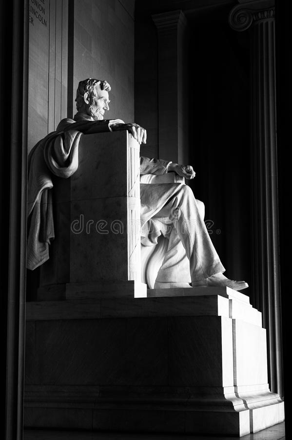 Download Abraham Lincoln statue stock image. Image of robe, historical - 23157151