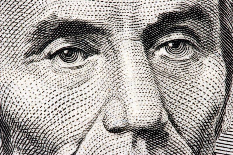 Abraham- Lincolnabschluß oben stockfoto