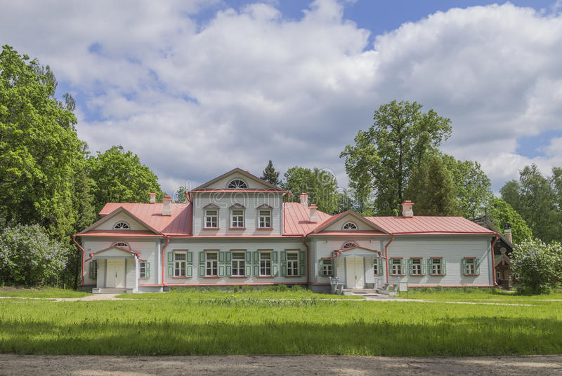 The Abramtsevo Museum. Is located near the town of Sergiev Posad 60 kilometers (37 miles) to the north-east of Moscow stock image