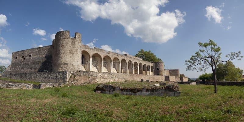 Abrantes-Schloss in Portugal stockfotos