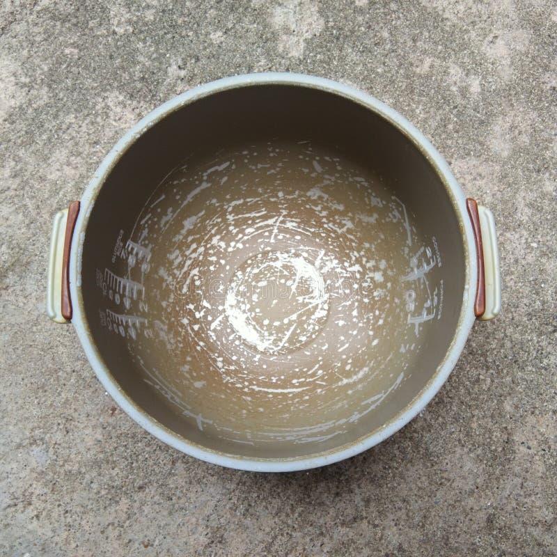 Abrasion rice cooker stock photos