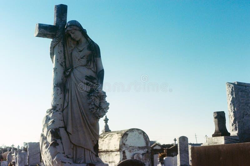 Abrazo cruzado, New Orleans foto de archivo