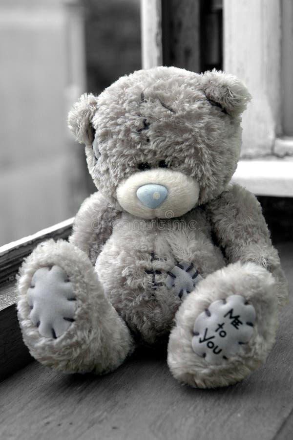 Abrazo de oso del peluche fotos de archivo libres de regalías