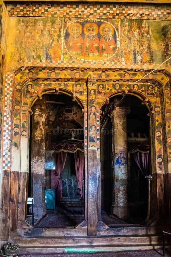 Abreha Atsbeha ko?ci?? chrze?cija?ski w Tigray, Etiopia obrazy royalty free