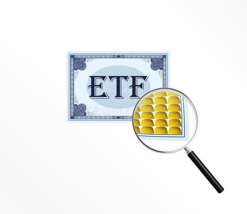 Abreviatura ETF libre illustration