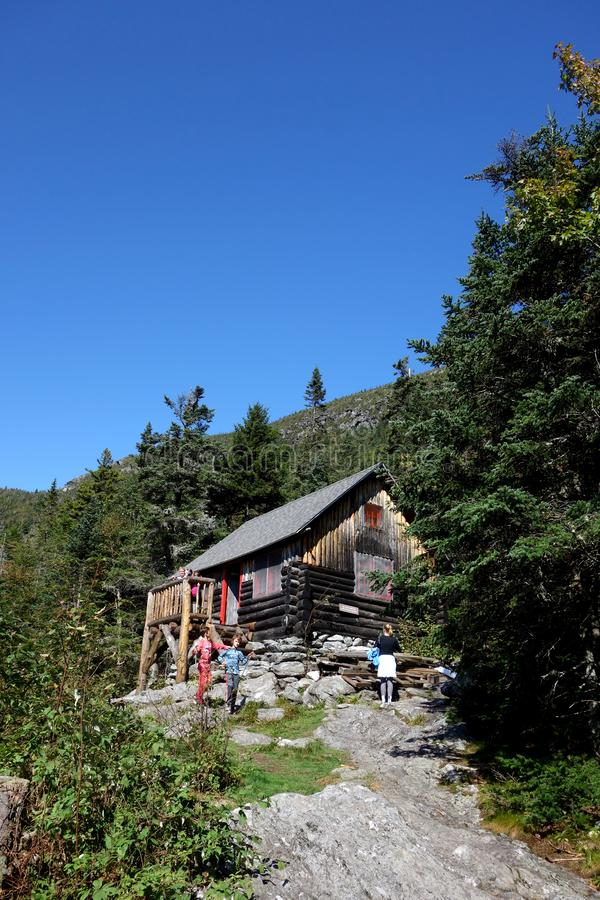 Abri de Butler Lodge Long Trail image stock