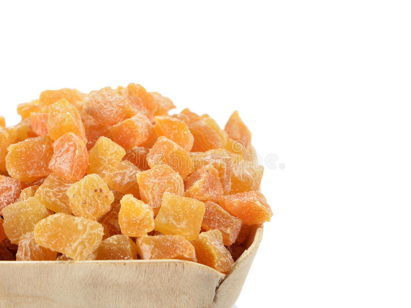 Abricots secs images libres de droits