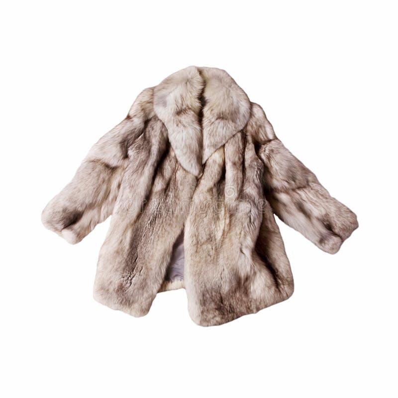 Abrigo de pieles del Fox imagenes de archivo