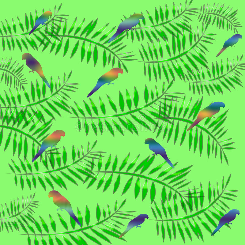 Abrigo de regalo tropical libre illustration