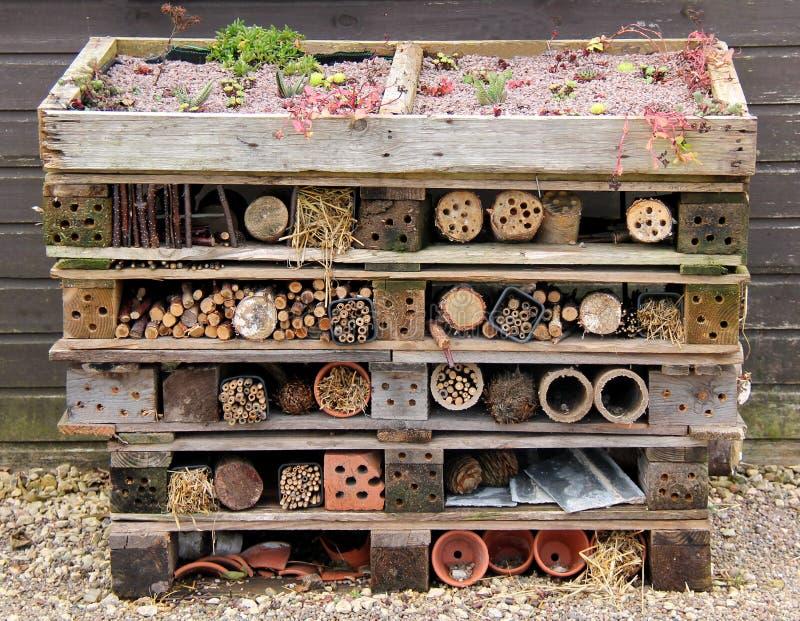 Abrigo do jardim fotografia de stock