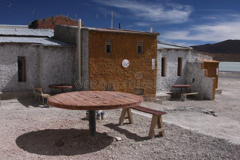 Abrigos próximo em Laguna Hedionda fotos de stock