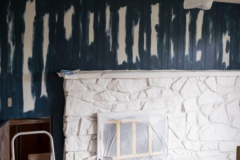 Abrigue a renovação e remodele-a foto de stock royalty free