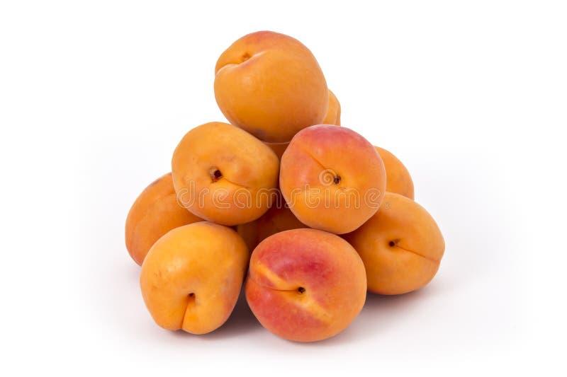 abrikozen stock fotografie