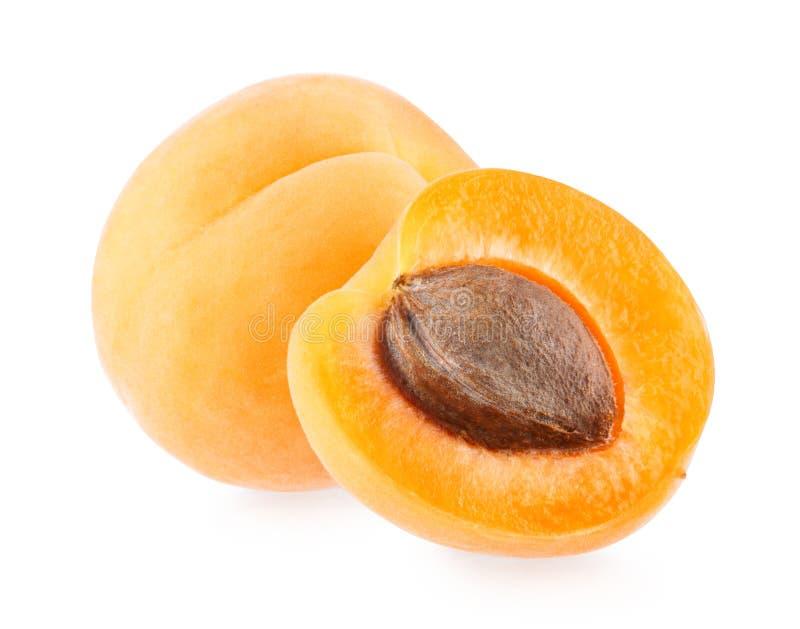 abrikozen stock foto
