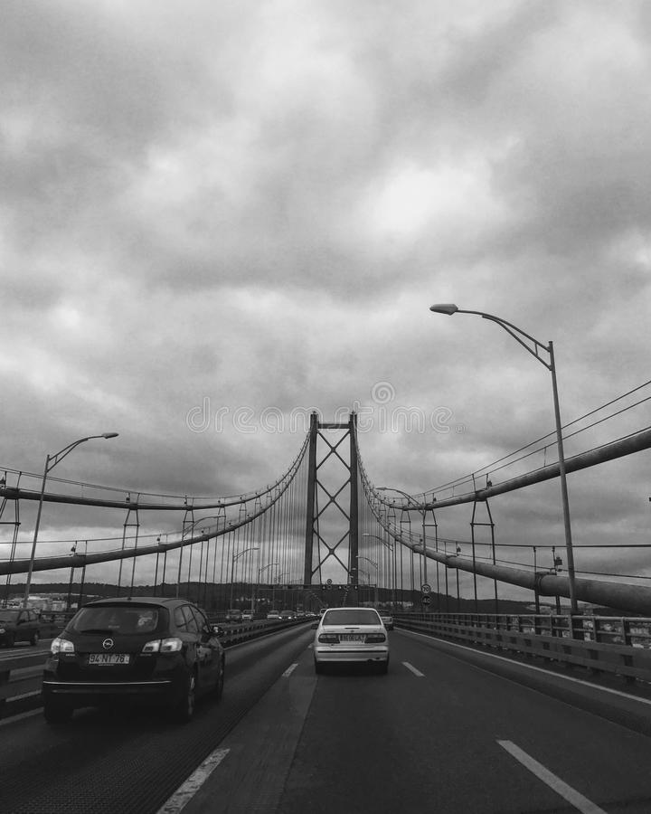 25 abril de ponte стоковое фото rf
