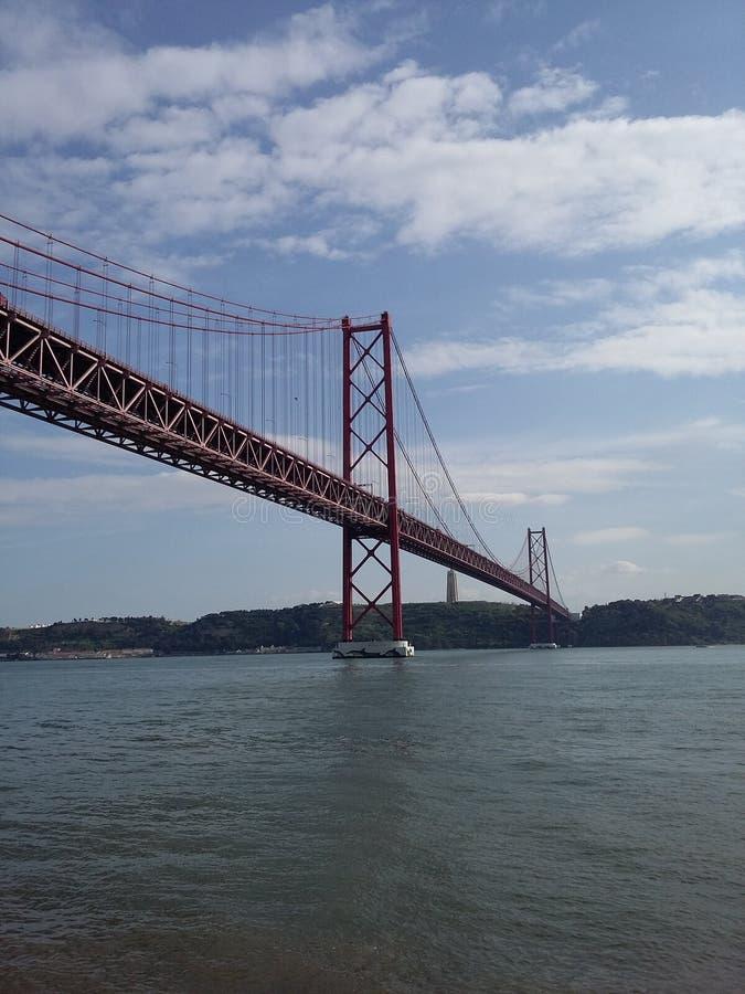 24 abrilbro Lissabon royaltyfri foto