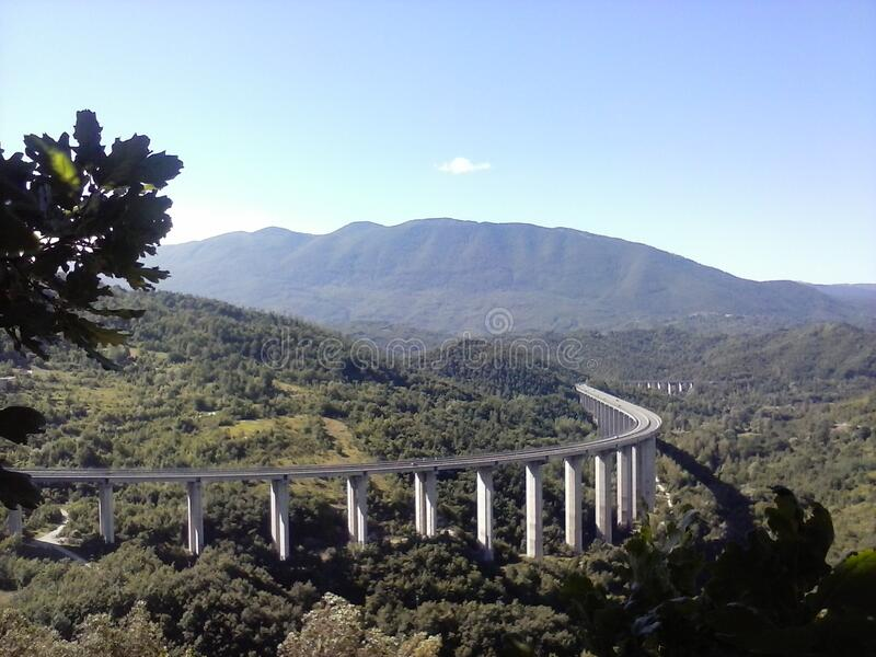 Abruzo Autostrad Free Public Domain Cc0 Image