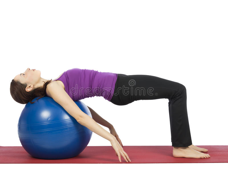 Abs workout royalty free stock images
