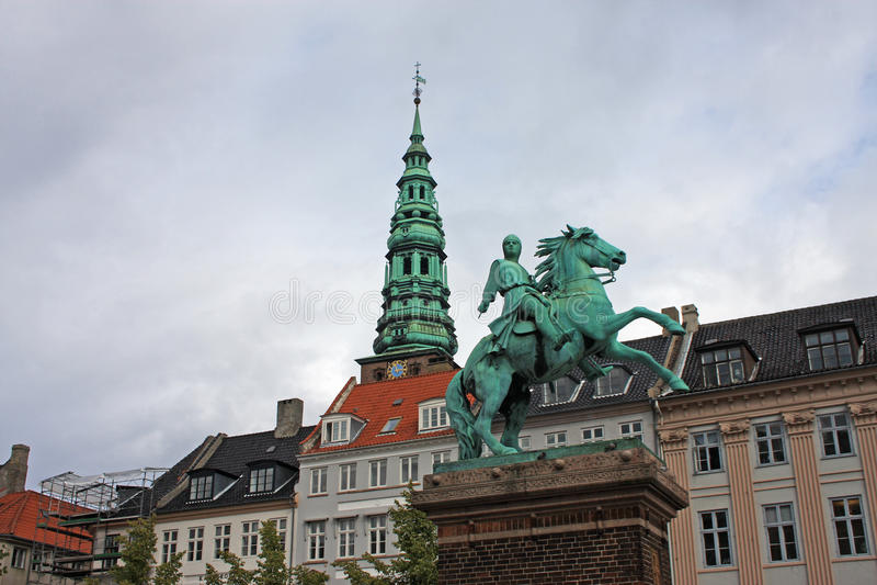 Absalon Statue, Copenhagen Royalty Free Stock Images