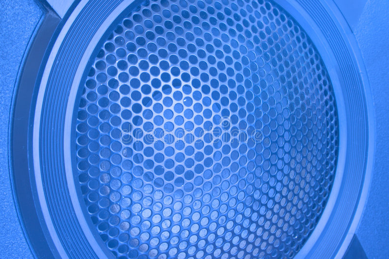 Abschluss des lauten Lautsprechers oben stockfotos