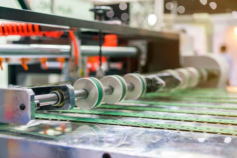 Abschluss herauf Rad und Rolle f?r Papierzufuhreinheit von modernem und Spitzentechnologie der automatischen Ver?ffentlichung ode stockfoto