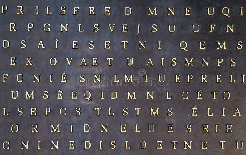 absctact list metaliczny tło obrazy stock
