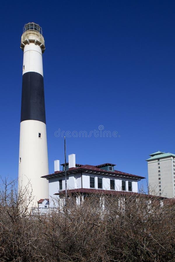 Absecon latarnia morska w Atlantyckim mieście, Nowym - bydło zdjęcia stock