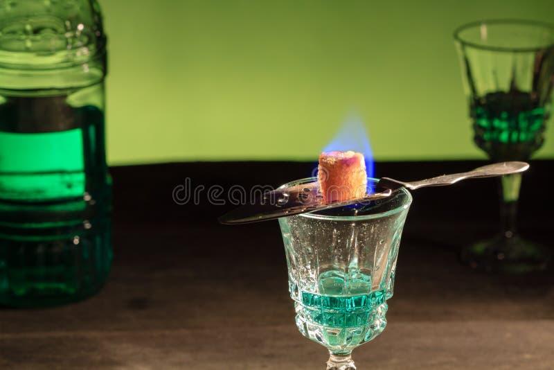 absinthe fotografia de stock royalty free