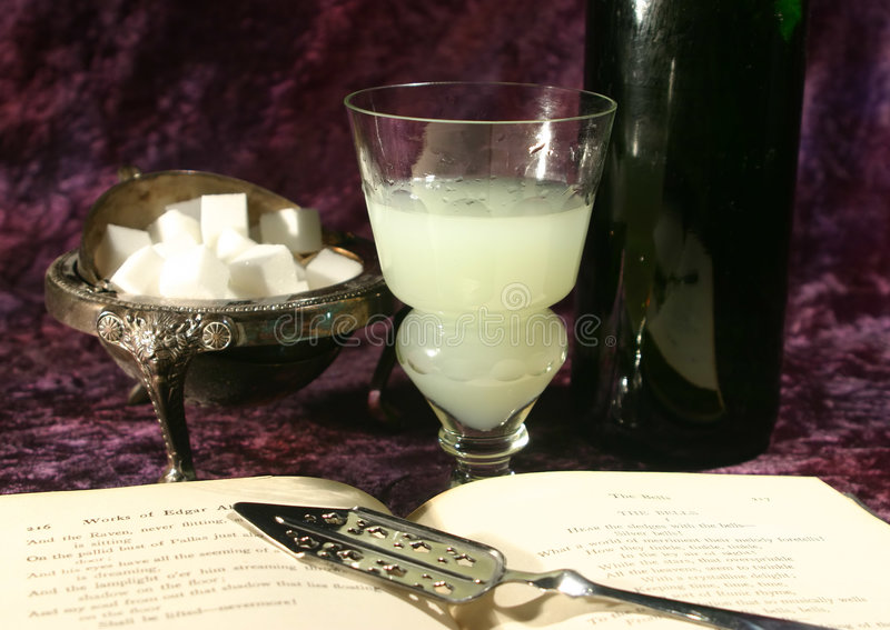 Download Absinthe scene stock image. Image of ritual, absinthe, taboo - 708163