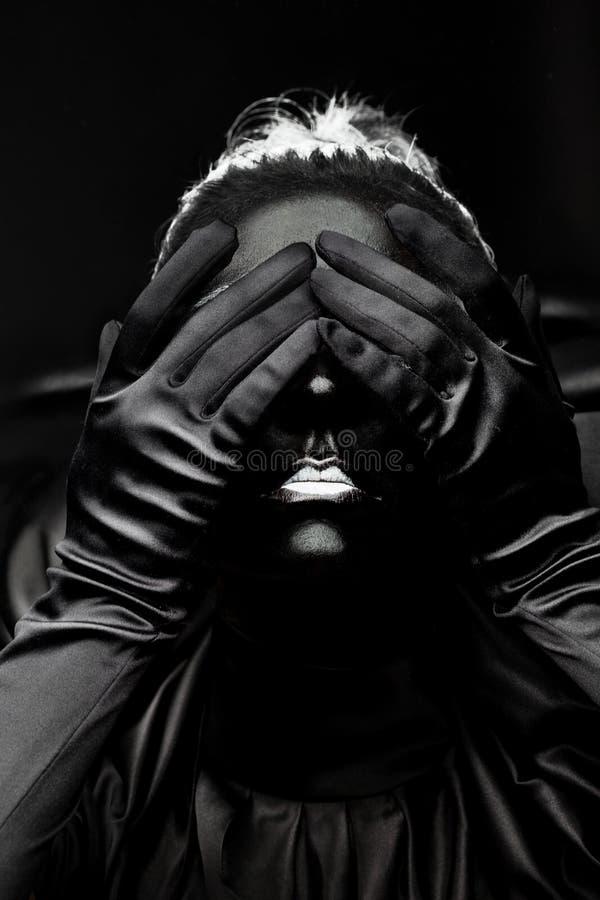 Absolutamente negro fotos de archivo