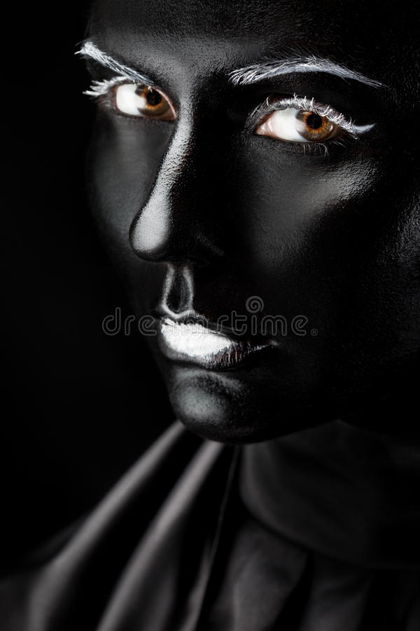 Absolutamente negro imagenes de archivo