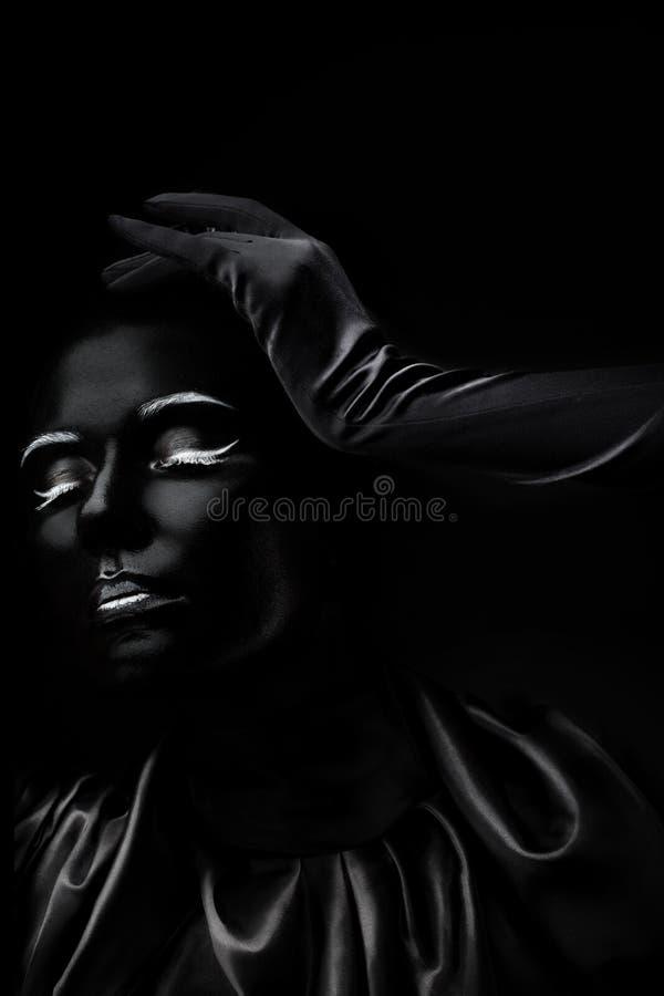 Absolutamente negro imágenes de archivo libres de regalías
