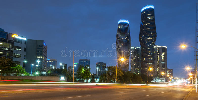 Absolute tower Mississauga royalty free stock photo