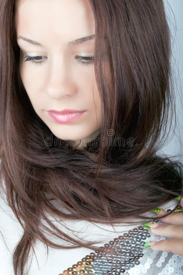 Absolutely perfect girl stock photos