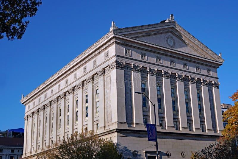 Absolwenci Hali Uniwersytetu w Pittsburghu zdjęcia stock