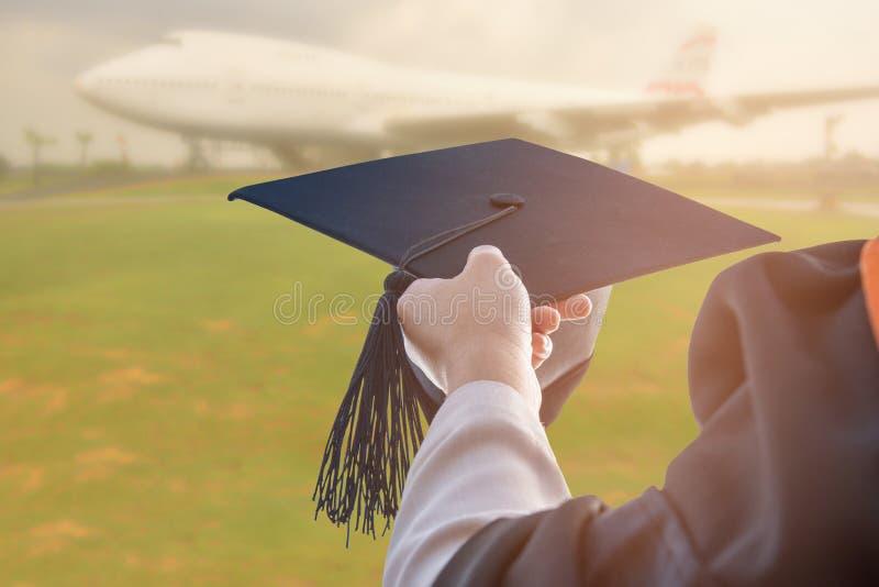 Absolwenci uniwersytet obraz royalty free