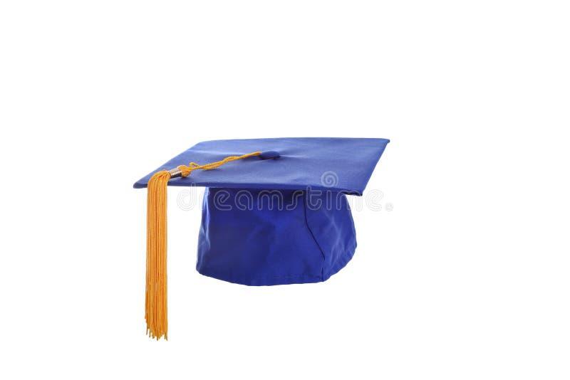 Absolwenta kapelusz zdjęcia stock