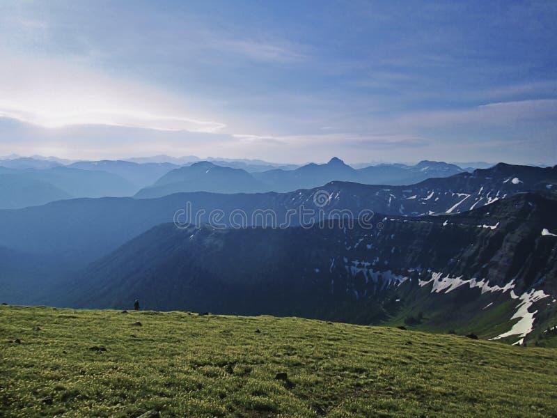 Absorokabergen, Montana royalty-vrije stock afbeelding