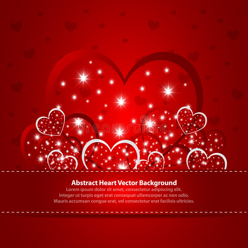 Download Absract Background With Hearts Stock Vector - Image: 22312781