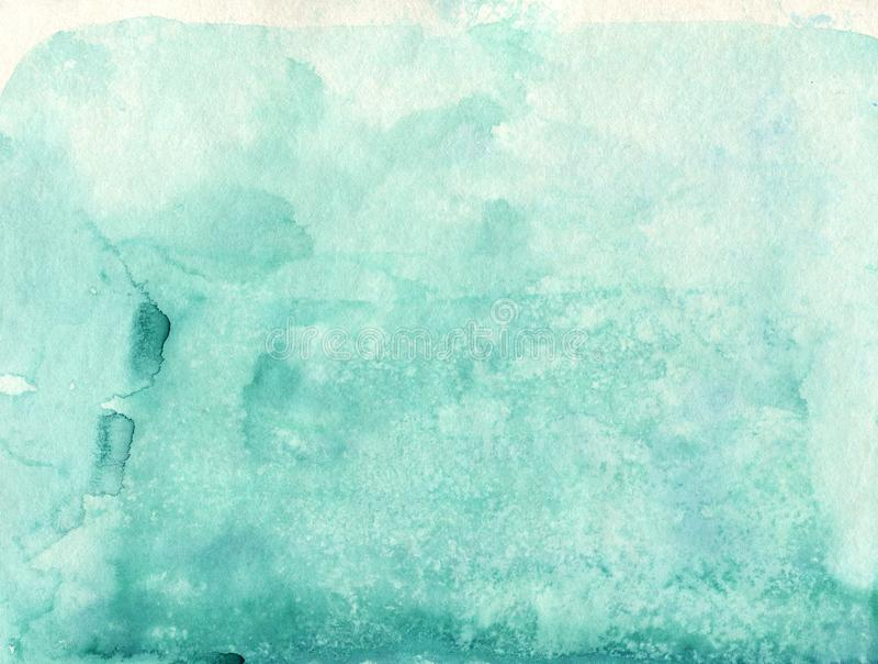Absrtact软的水彩backgraund 手画轻的watercol 向量例证