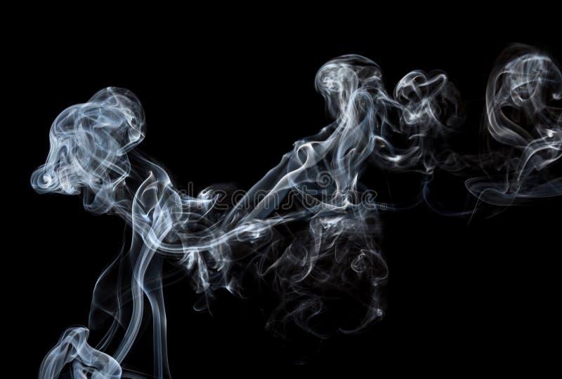 Absrtact sztuka z dymem obrazy stock
